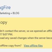 OneDrive Sync Offline