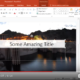 Quick Tip: PowerPoint: Transparent Fill