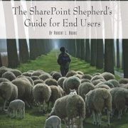 The SharePoint Shepherd's Guide for End Users: 2007 Book Cover