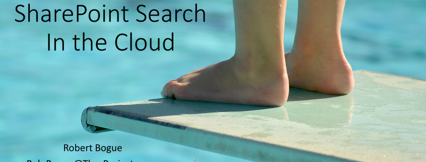 Delving into SharePoint Search in the Cloud